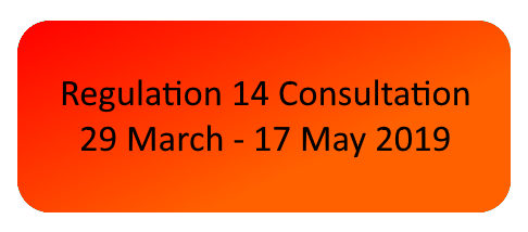 Fressingfield NDP - Reg 14 Consultation 29 March - 17 May 2019